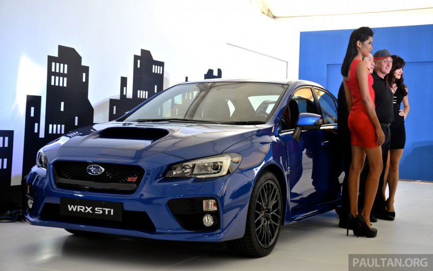 Subaru WRX and WRX STI launched – RM231k-RM271k Image #262591