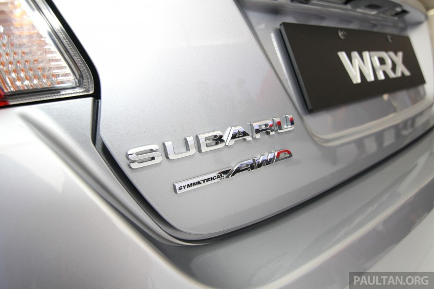 Subaru WRX and WRX STI launched – RM231k-RM271k Image #262637