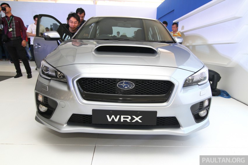 Subaru WRX and WRX STI launched – RM231k-RM271k Image #262638