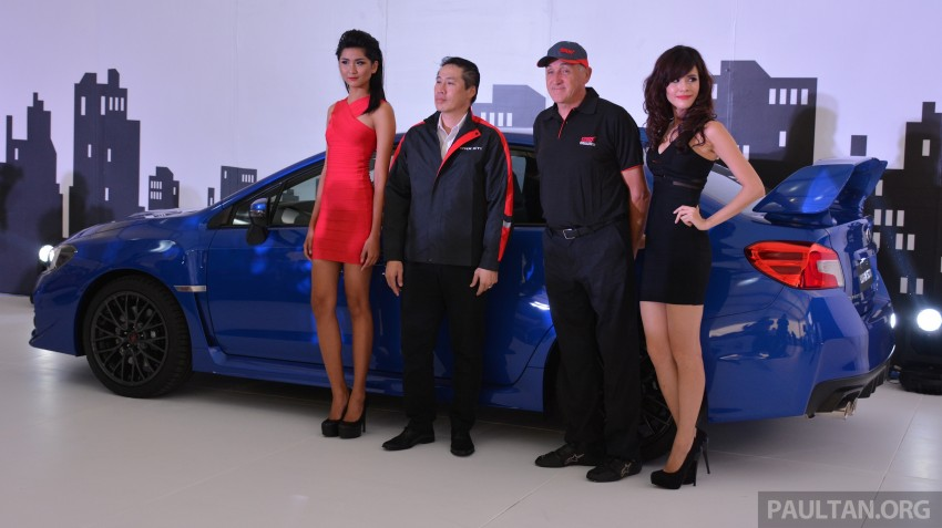 Subaru WRX and WRX STI launched – RM231k-RM271k Image #262584