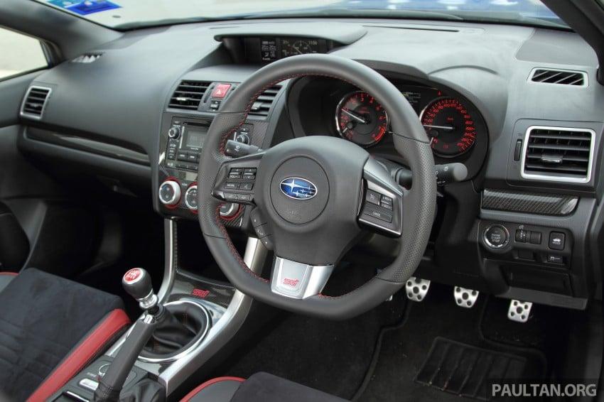 Subaru WRX and WRX STI launched – RM231k-RM271k Image #262464