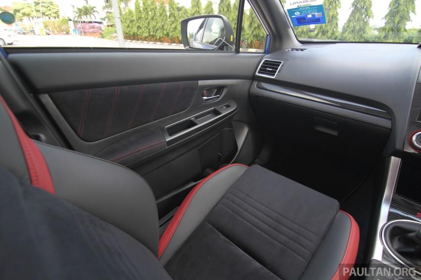 Subaru WRX and WRX STI launched – RM231k-RM271k Image #262476