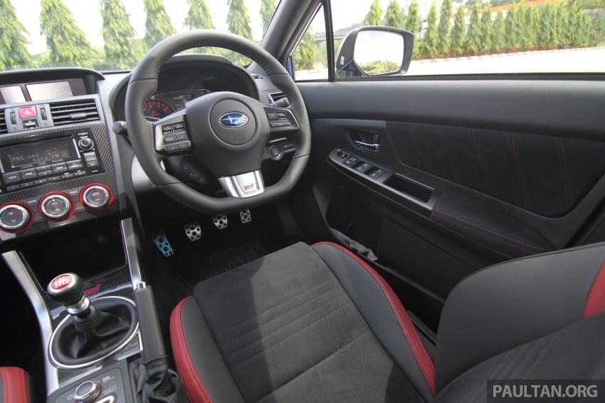 Subaru WRX and WRX STI launched – RM231k-RM271k Image #262477