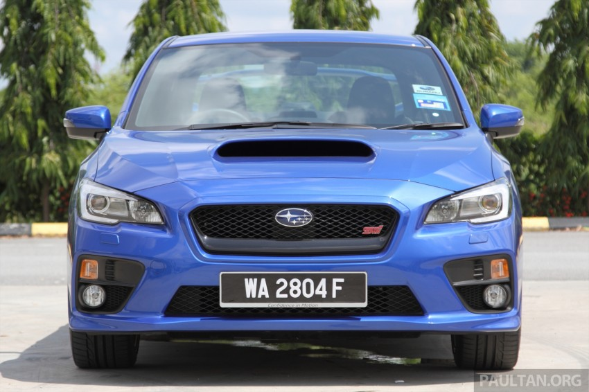 Subaru WRX and WRX STI launched – RM231k-RM271k Image #262482