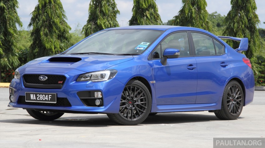 Subaru WRX and WRX STI launched – RM231k-RM271k Image #262483