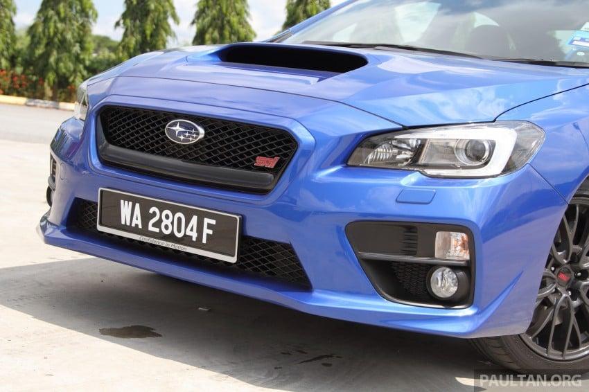 Subaru WRX and WRX STI launched – RM231k-RM271k Image #262484