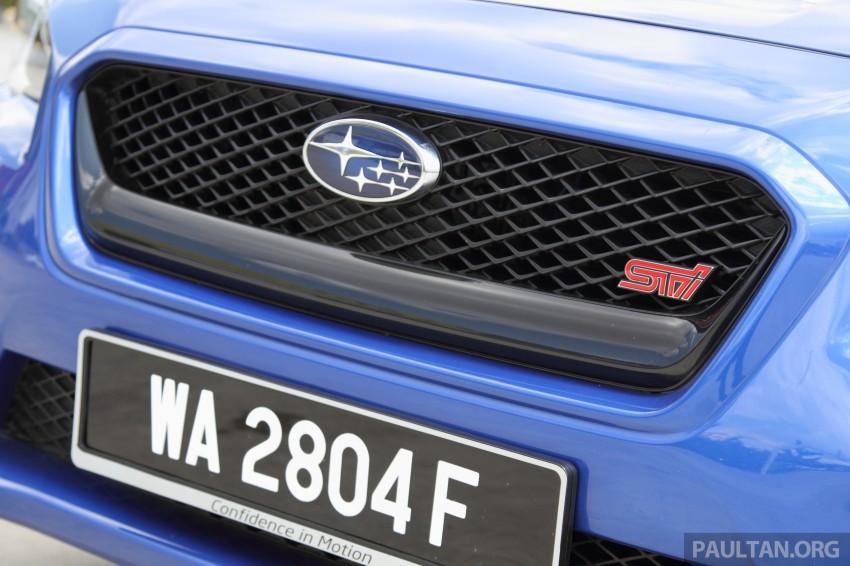 Subaru WRX and WRX STI launched – RM231k-RM271k Image #262488