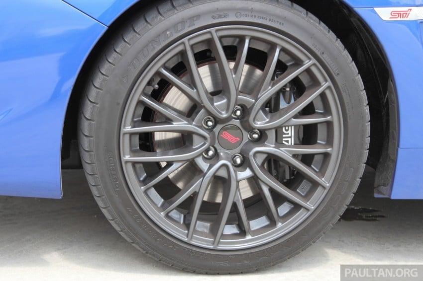 Subaru WRX and WRX STI launched – RM231k-RM271k Image #262491