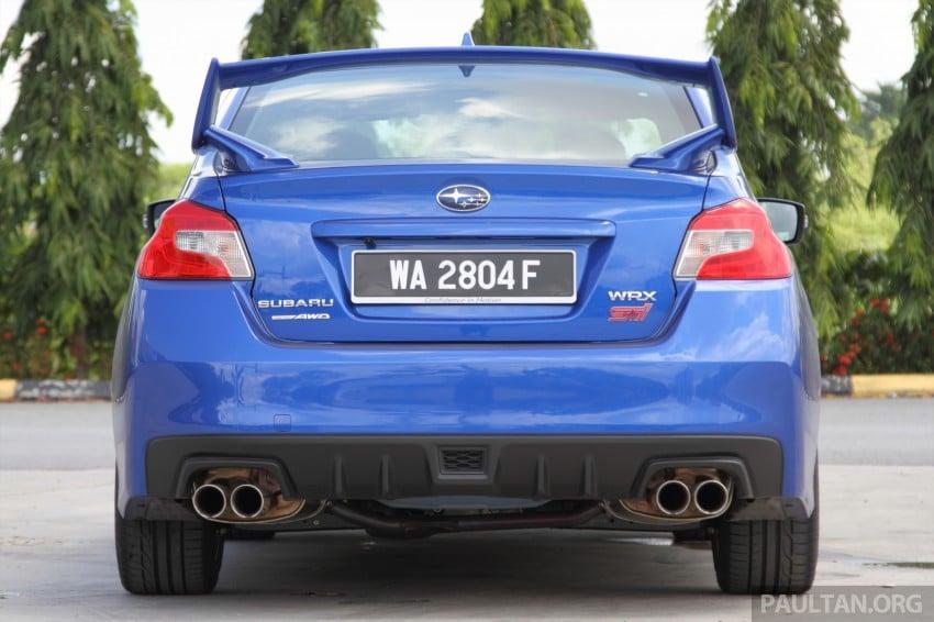 Subaru WRX and WRX STI launched – RM231k-RM271k Image #262497