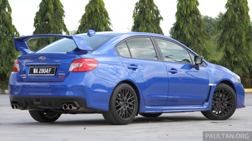 Subaru WRX and WRX STI launched – RM231k-RM271k Image #262498