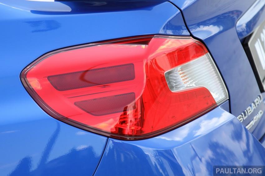 Subaru WRX and WRX STI launched – RM231k-RM271k Image #262502
