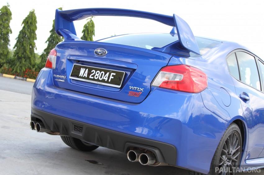 Subaru WRX and WRX STI launched – RM231k-RM271k Image #262503