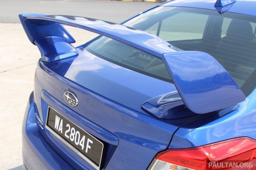 Subaru WRX and WRX STI launched – RM231k-RM271k Image #262506