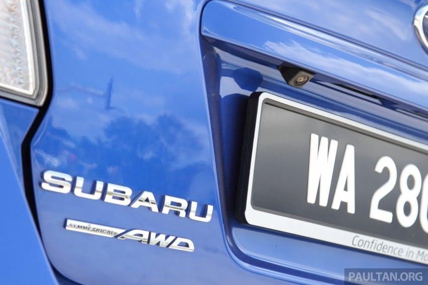 Subaru WRX and WRX STI launched – RM231k-RM271k Image #262510