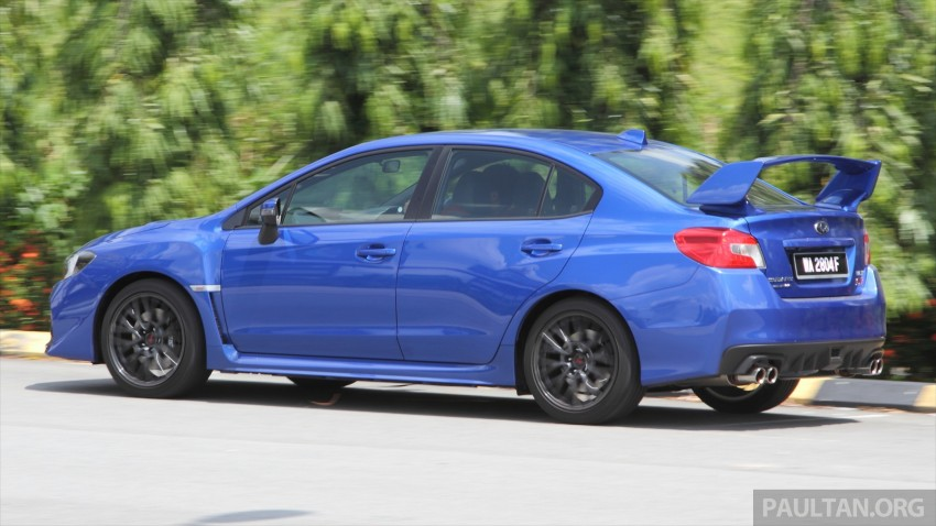 Subaru WRX and WRX STI launched – RM231k-RM271k Image #262515