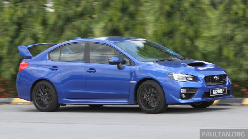 Subaru WRX and WRX STI launched – RM231k-RM271k Image #262516