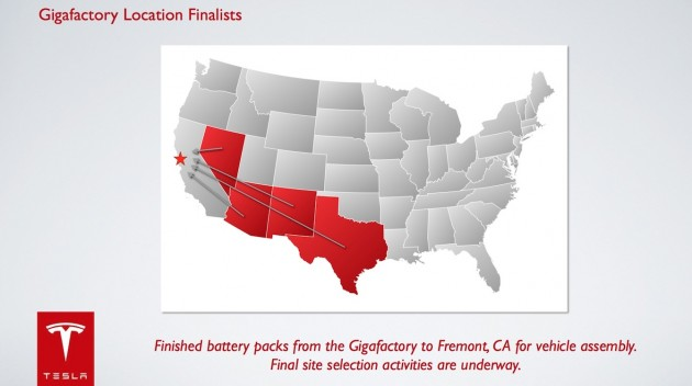 Tesla-gigafactory-locations