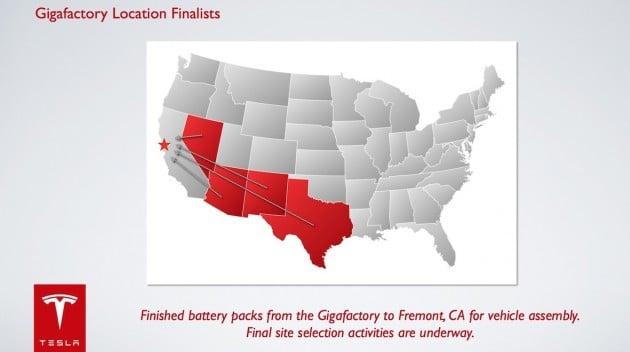 Tesla-gigafactory-locations