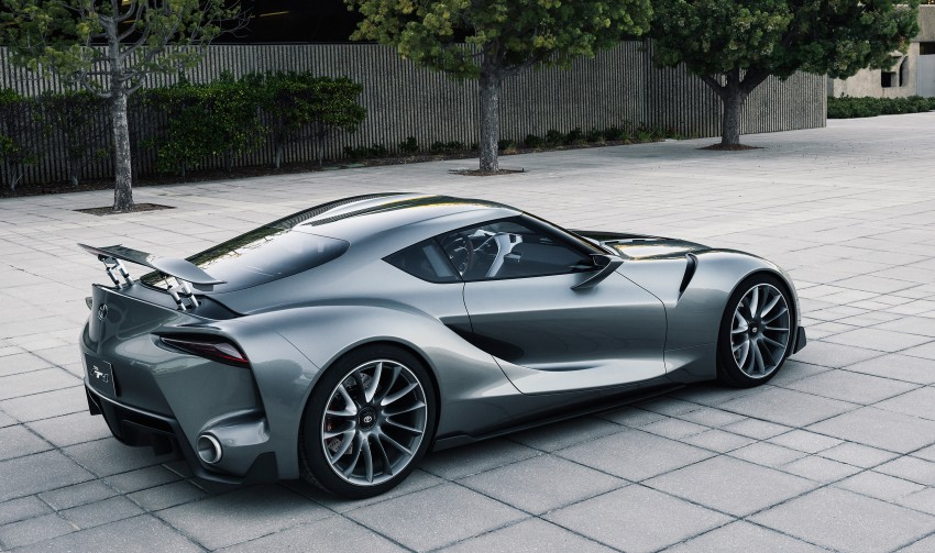 Toyota FT-1 Vision Gran Turismo virtual racer debuts Image #263550