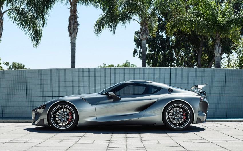 Toyota FT-1 Vision Gran Turismo virtual racer debuts Image #263551