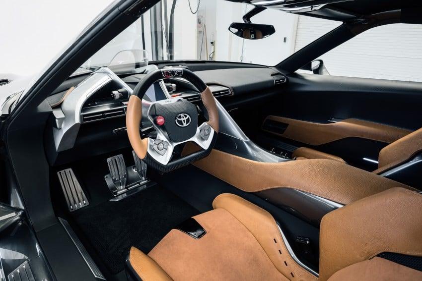 Toyota FT-1 Vision Gran Turismo virtual racer debuts Image #263567