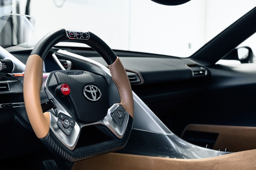 Toyota FT-1 Vision Gran Turismo virtual racer debuts Image #263573