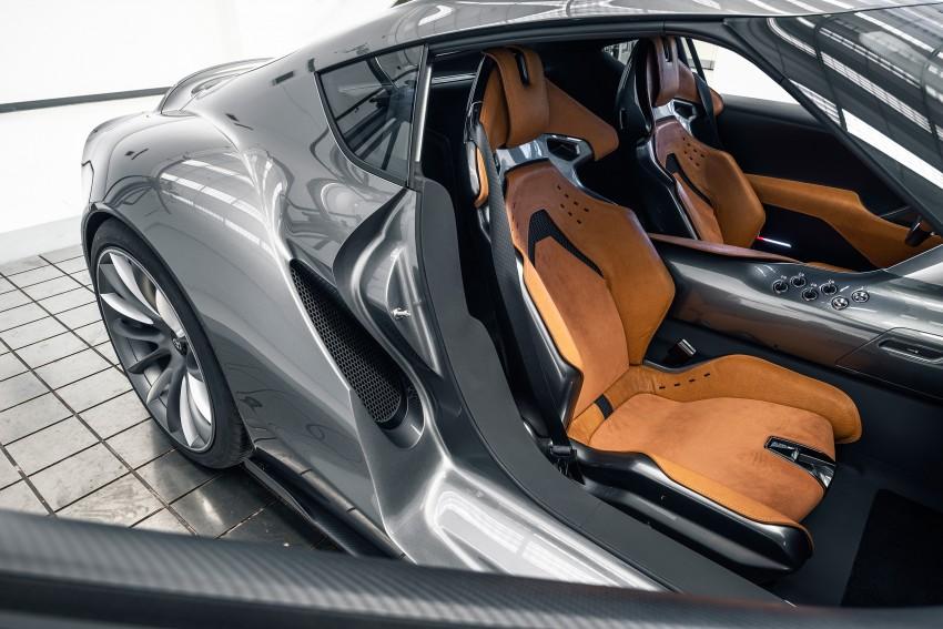 Toyota FT-1 Vision Gran Turismo virtual racer debuts Image #263575