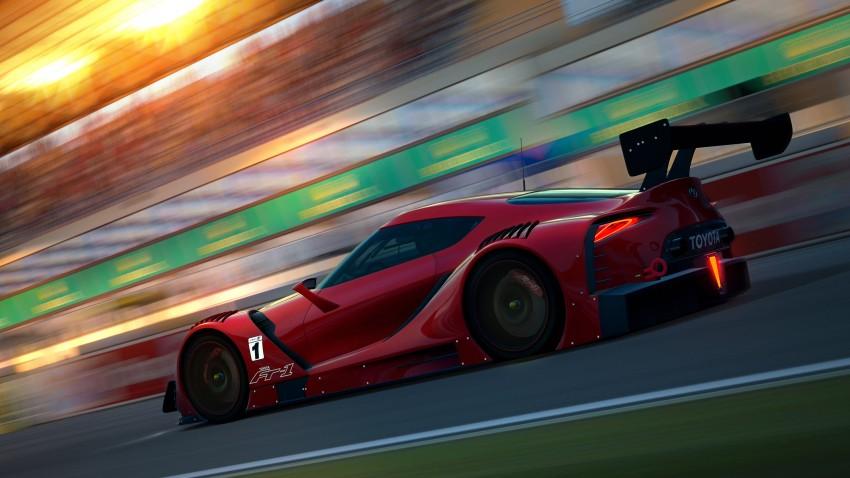 Toyota FT-1 Vision Gran Turismo virtual racer debuts Image #263587