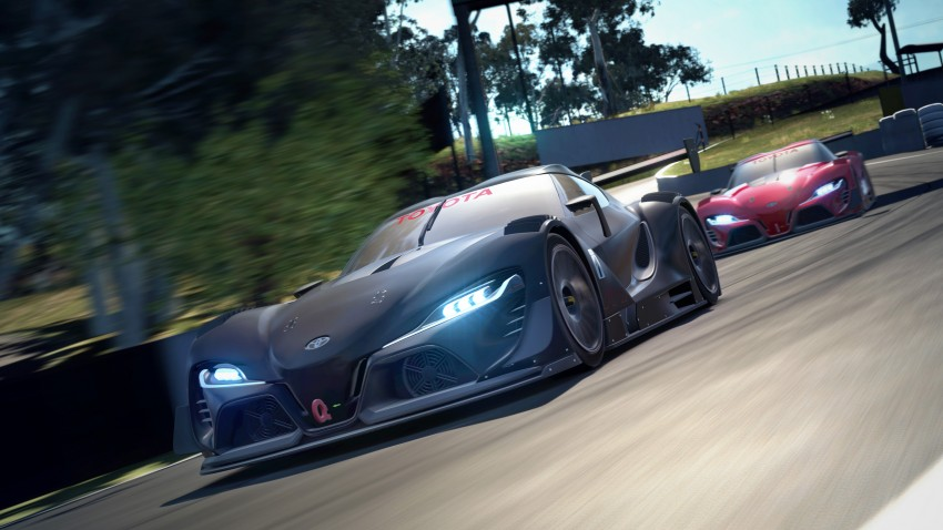 Toyota FT-1 Vision Gran Turismo virtual racer debuts Image #263589