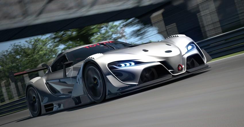 Toyota FT-1 Vision Gran Turismo virtual racer debuts Image #263591
