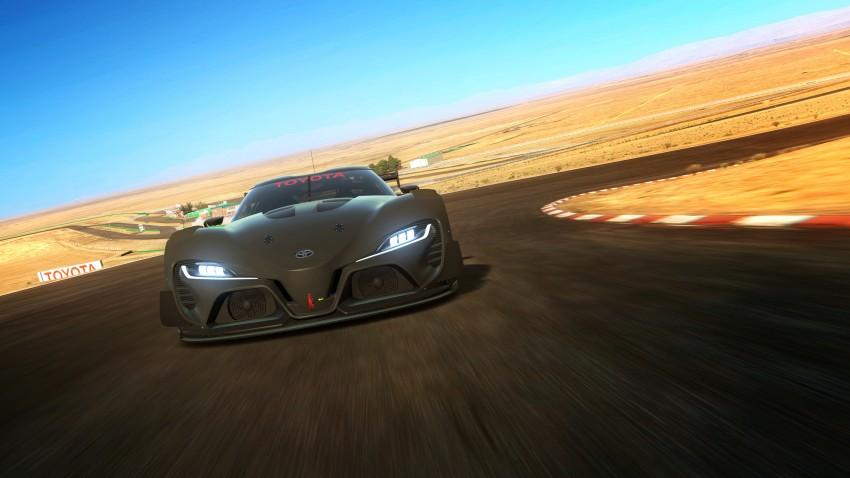 Toyota FT-1 Vision Gran Turismo virtual racer debuts Image #263593
