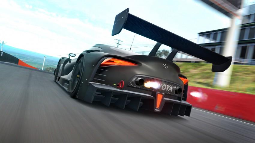 Toyota FT-1 Vision Gran Turismo virtual racer debuts Image #263594