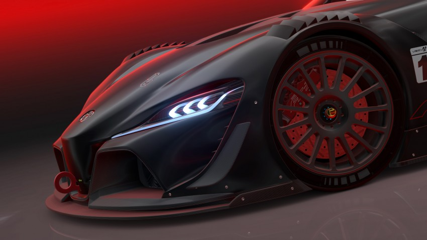Toyota FT-1 Vision Gran Turismo virtual racer debuts Image #263597