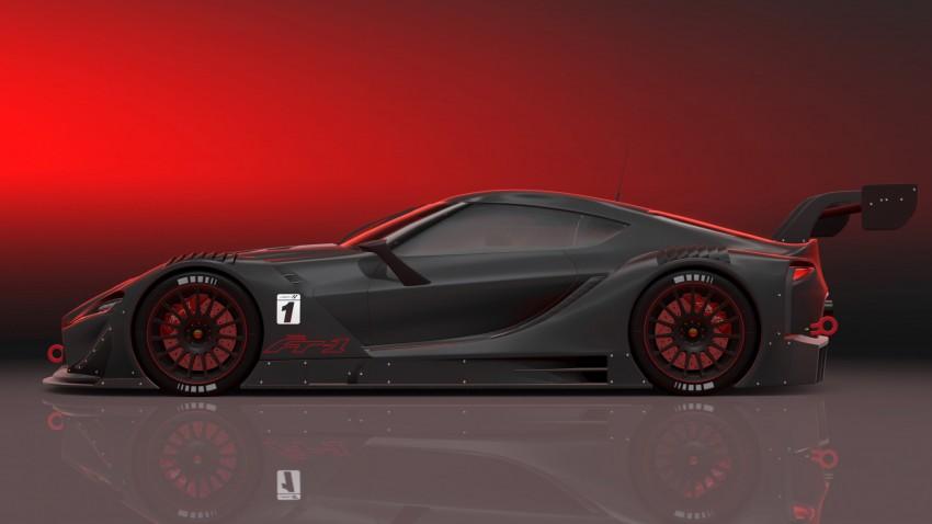 Toyota FT-1 Vision Gran Turismo virtual racer debuts Image #263602