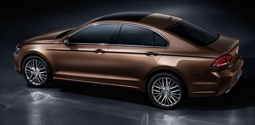 Volkswagen Lamando debuts in China: it's a 'Jetta CC' Image #267623