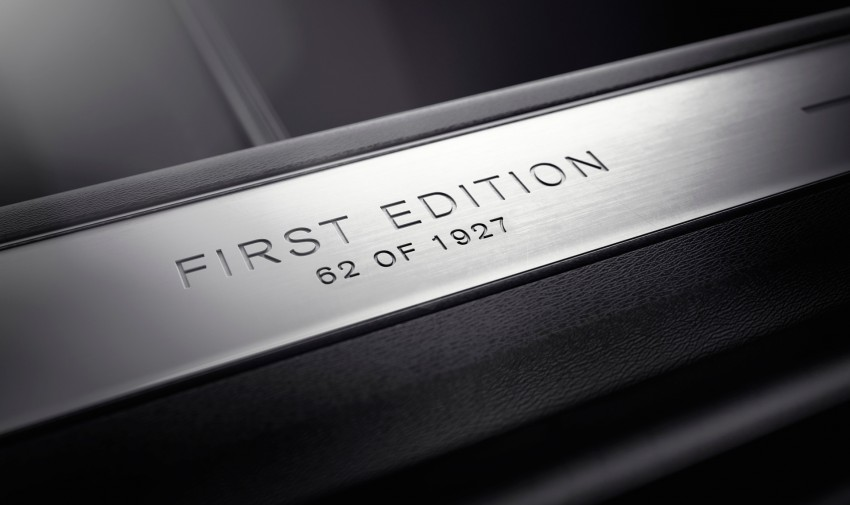 2015 Volvo XC90 First Edition – limited run of 1,927 vehicles, only available through online sales Image #266700