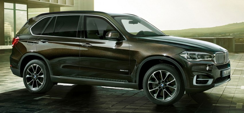 BMW X5 Security Plus debuts at Moscow 2014 Image #266856