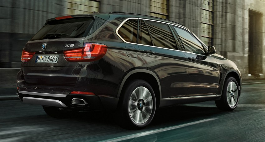 BMW X5 Security Plus debuts at Moscow 2014 Image #266860