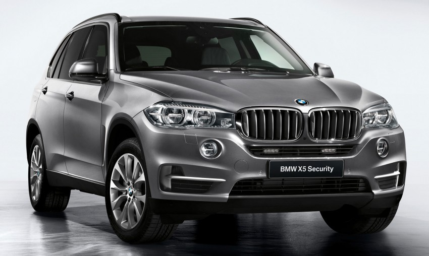 BMW X5 Security Plus debuts at Moscow 2014 Image #266861