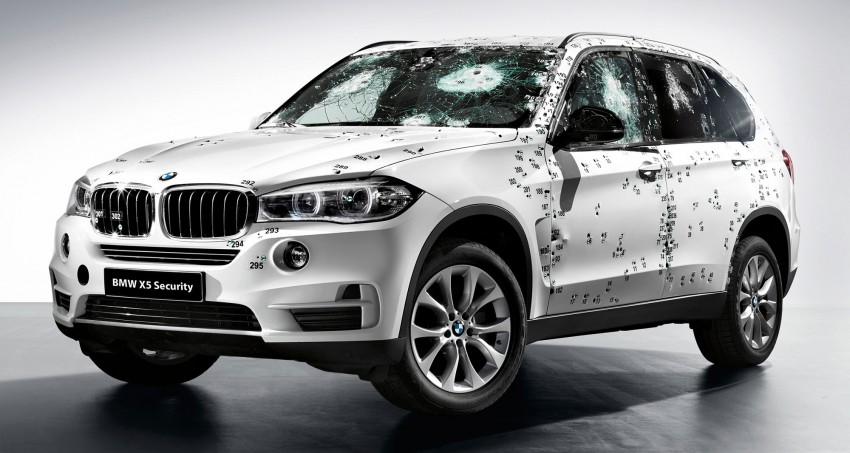 BMW X5 Security Plus debuts at Moscow 2014 Image #266862