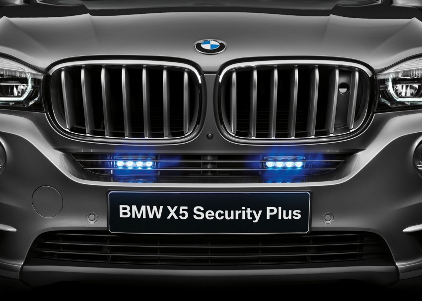 BMW X5 Security Plus debuts at Moscow 2014 Image #266878