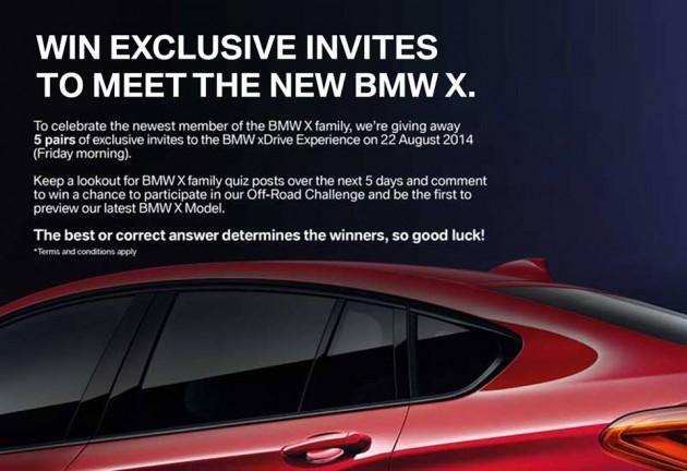 bmw x4 invite