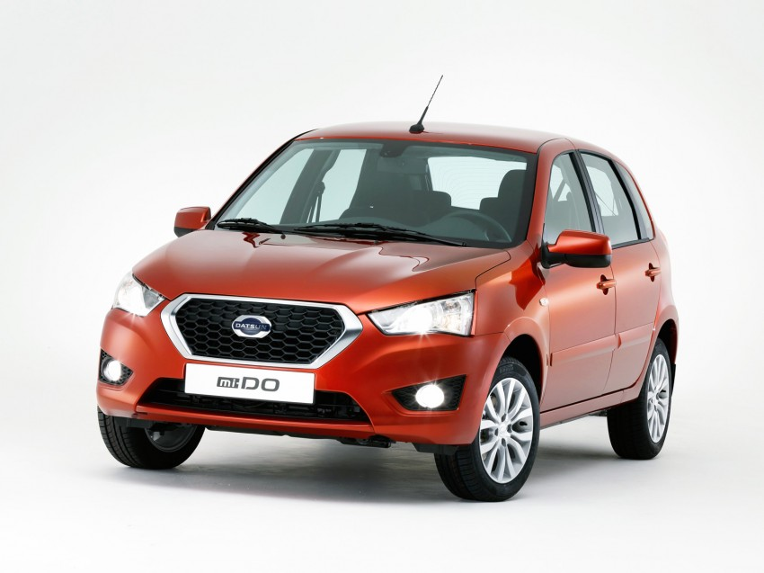 Datsun mi-DO debuts in Moscow – it's an on-DO hatch Image #266907