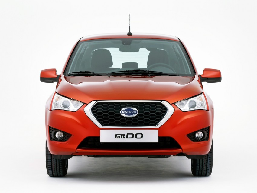 Datsun mi-DO debuts in Moscow – it's an on-DO hatch Image #266909