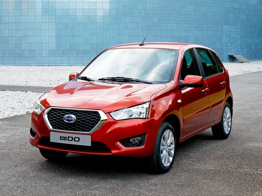 Datsun mi-DO debuts in Moscow – it's an on-DO hatch Image #266911