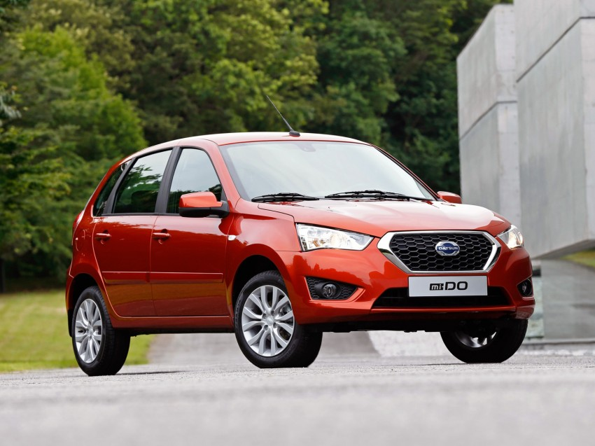 Datsun mi-DO debuts in Moscow – it's an on-DO hatch Image #266913