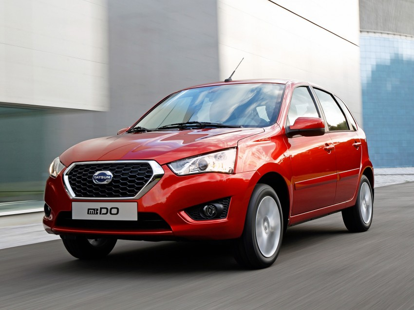 Datsun mi-DO debuts in Moscow – it's an on-DO hatch Image #266914