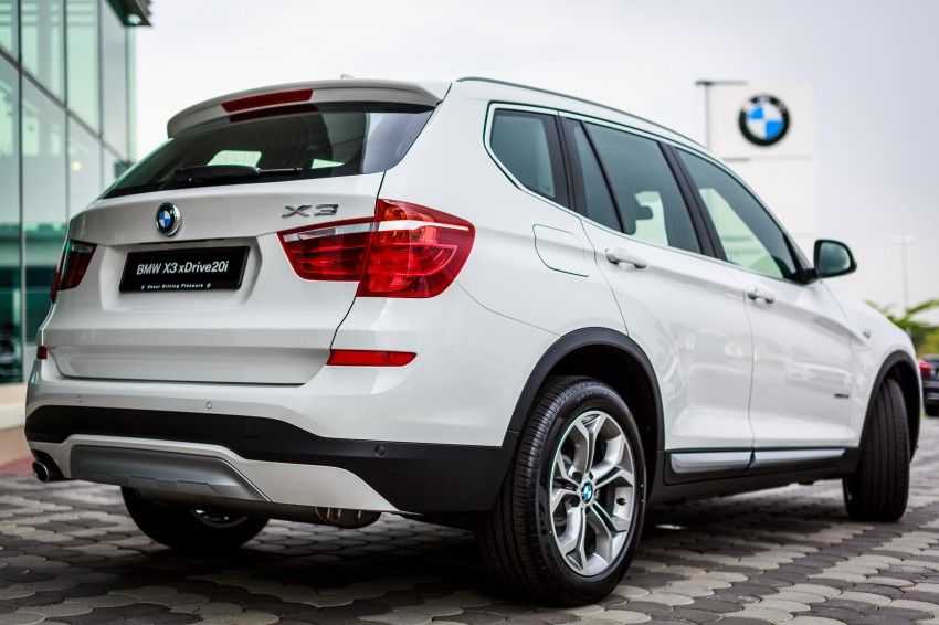 F25 BMW X3 LCI debuts in Malaysia – two CKD variants, xDrive20i RM329k and xDrive20d RM349k Image #263903