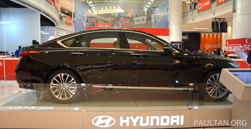 Hyundai Genesis previewed in Malaysia with 3.8L V6 Image #264646