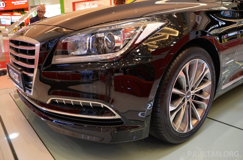 Hyundai Genesis previewed in Malaysia with 3.8L V6 Image #264642